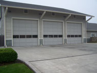 Commercial Wood Garage Doors